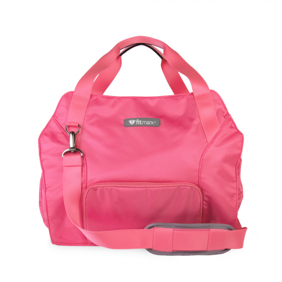 transportertotebag_pink_frontwithstrapflaten-580x580_1